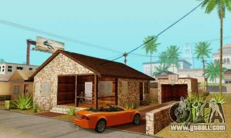 New house big Smoke for GTA San Andreas