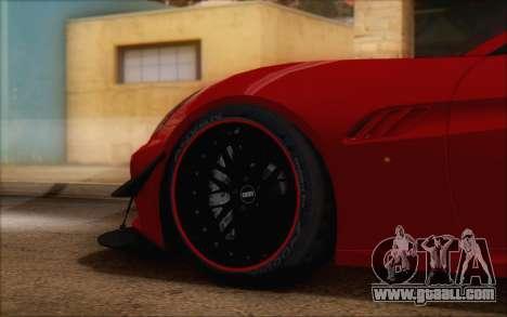 Ferrari California v2 for GTA San Andreas right view
