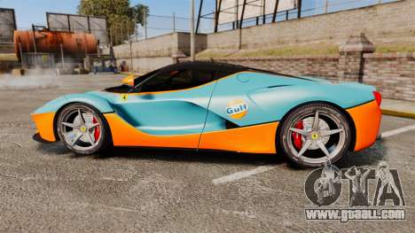 Ferrari LaFerrari for GTA 4 left view