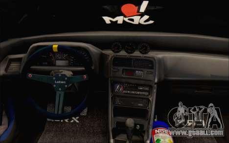 Honda cr-x, Turkey for GTA San Andreas back view