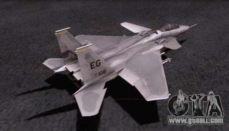 F-15S for GTA San Andreas inner view