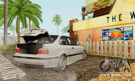 BMW E36 M3 1997 Stock for GTA San Andreas left view