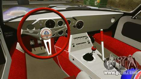 Shelby Cobra Daytona Coupe for GTA 4 upper view