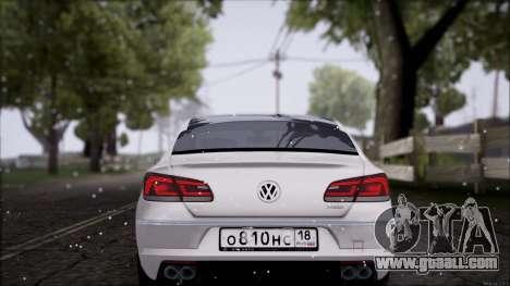 Volkswagen Passat CC for GTA San Andreas right view
