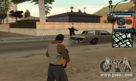C-HUD One Of The Legends Ghetto for GTA San Andreas third screenshot