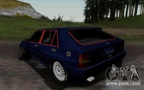 Lancia Delta HF Integrale Evo2 for GTA San Andreas back left view