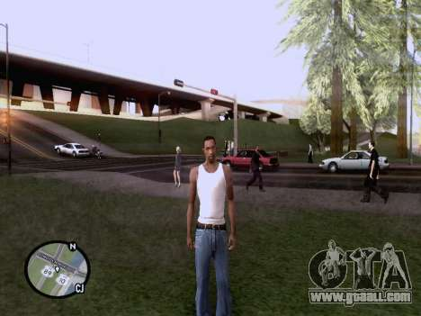 The new map in HD for GTA San Andreas forth screenshot
