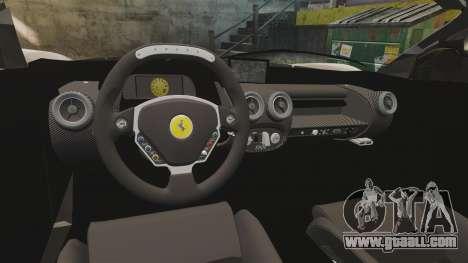 Ferrari LaFerrari v2.0 for GTA 4 inner view