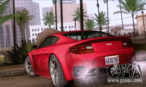 GTA V Rapid GT for GTA San Andreas left view