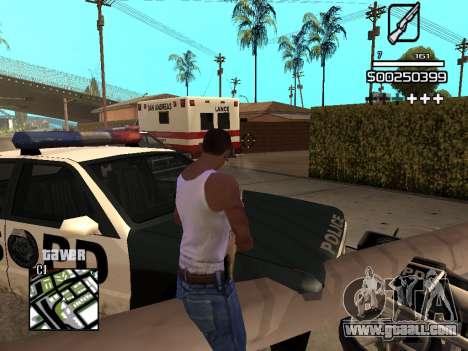 C-HUD By Kapo for GTA San Andreas ninth screenshot