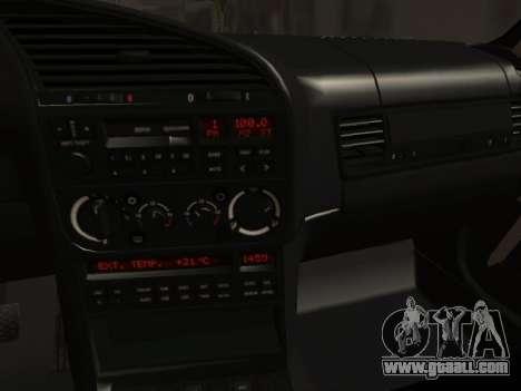 BMW M3 E36 Hellafail for GTA San Andreas inner view