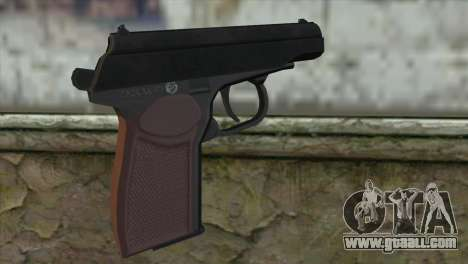 Makarov Pistol for GTA San Andreas second screenshot