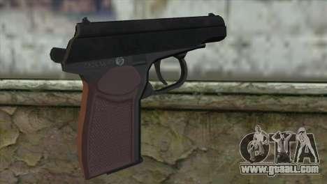 Makarov Pistol for GTA San Andreas second screenshot