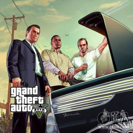 Boot screen GTA V for GTA San Andreas third screenshot
