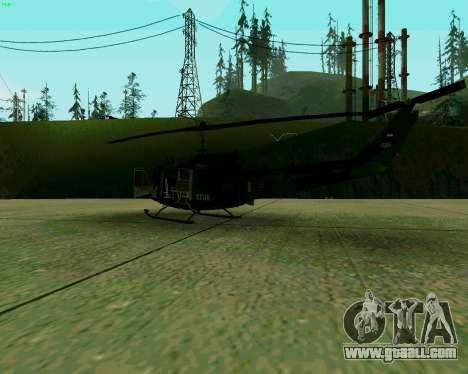 UH-1D Huey for GTA San Andreas right view