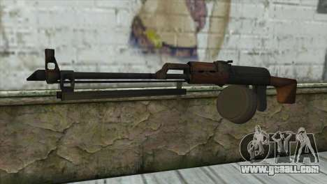 RPK Machine Gun for GTA San Andreas