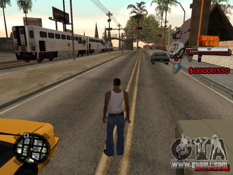 C-HUD Admins Team for GTA San Andreas third screenshot