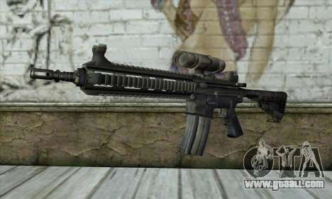 HK416 for GTA San Andreas
