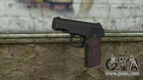 Makarov Pistol for GTA San Andreas