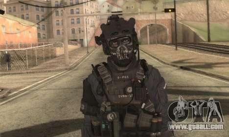 Custom из CoD:Ghost for GTA San Andreas