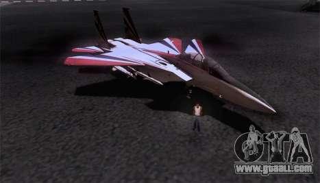 F-15S for GTA San Andreas interior