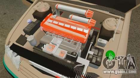 Citroen Xantia for GTA 4 inner view