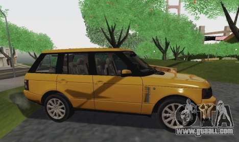 Range Rover Supercharged Series III for GTA San Andreas right view
