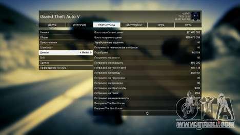 GTA 5 Save GTA 5 100% and 1 billion Xbox 360 third screenshot