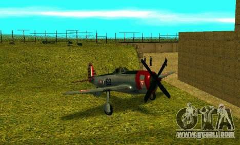 P-47 Thunderbolt for GTA San Andreas