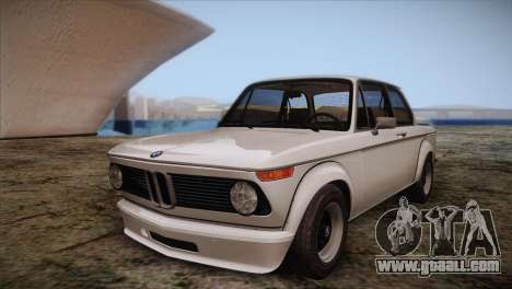 BMW 2002 1973 for GTA San Andreas