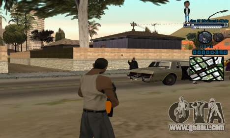 C-HUD One Of The Legends Ghetto for GTA San Andreas second screenshot