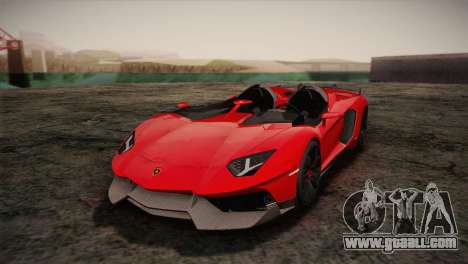Lamborghini Aventandor J 2010 for GTA San Andreas
