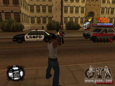 C-HUD Admins Team for GTA San Andreas eighth screenshot