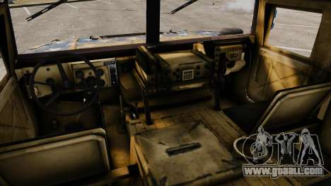 HMMWV M1114 Freedom for GTA 4 back view