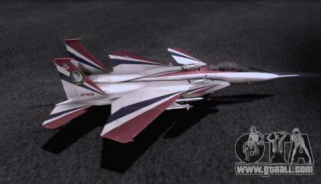 F-15S for GTA San Andreas upper view