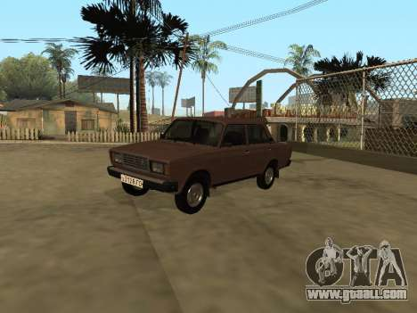 VAZ 2107 Early version for GTA San Andreas