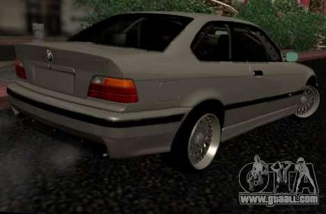 BMW M3 E36 Hellafail for GTA San Andreas back left view