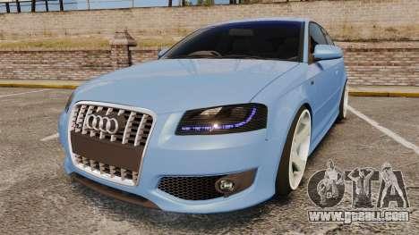 Audi S3 EmreAKIN Edition for GTA 4