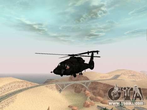 KA-60 for GTA San Andreas right view