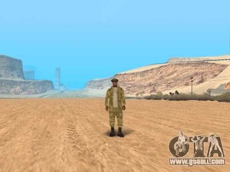 Pak Russian army service for GTA San Andreas twelth screenshot