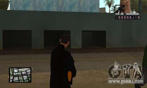 C-HUD by Miller for GTA San Andreas second screenshot