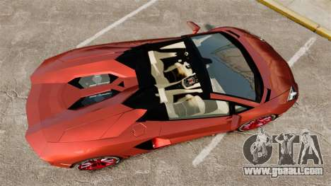 Lamborghini Aventador LP 700-4 Roadster [EPM] for GTA 4 right view