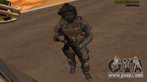 Sgt Keegan P.Russ из Call Of Duty: Ghosts for GTA San Andreas