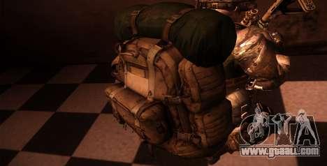 Рюкзак из MОH Warfighter for GTA San Andreas fifth screenshot