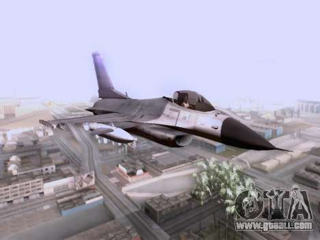 F-16 A for GTA San Andreas