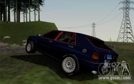 Lancia Delta HF Integrale Evo2 for GTA San Andreas right view
