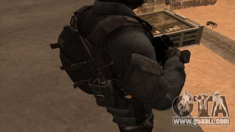 Sgt Keegan P.Russ из Call Of Duty: Ghosts for GTA San Andreas sixth screenshot