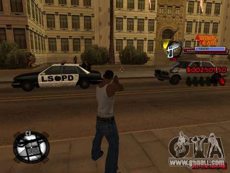C-HUD Admins Team for GTA San Andreas seventh screenshot