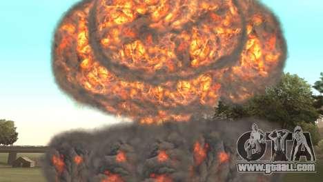 Nuclear strike for GTA San Andreas third screenshot
