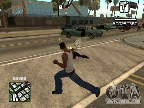 C-HUD By Kapo for GTA San Andreas forth screenshot